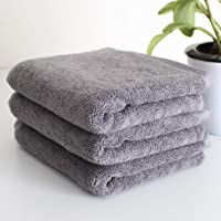 Heelium Bamboo Hand Towel for Sports & Gym, 3 Pieces, Ultra Soft, Super Absorbent, Antibacterial, 600 GSM, 25 inch x 15 inch
