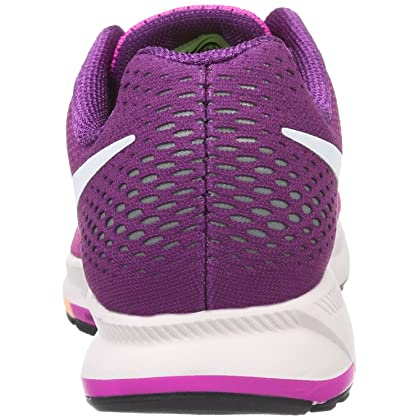 5b19fcf143f9 Nike Women s Air Zoom Pegasus 33 Fire Pink White Bright Grape Running Shoe  6 .