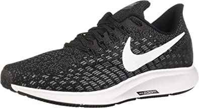 Nike W Air Zoom Pegasus 35 (W), Zapatillas para Mujer, Multicolor (Black/White/Gunsmoke/Oil Grey 001), 40 EU: Amazon.es: Zapatos y complementos