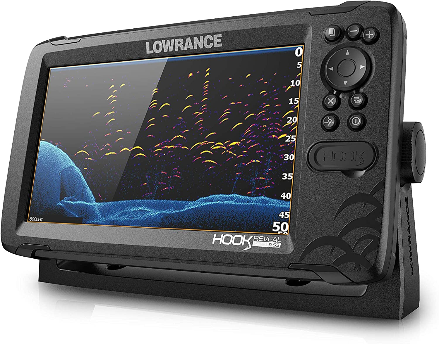 Lowrance Hook Reveal 7 Splitshot Row Icemachine One Size: Amazon ...