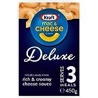 Kraft Mac & Cheese Deluxe Dinner Pasta, 380g
