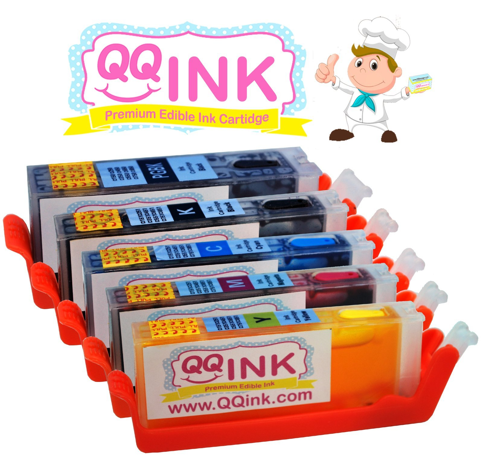 REFILLABLE Edible Cleaning Ink Cartridge - Canon Hi-Yield ...
