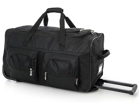2391288fee59 Large Lightweight Wheeled Duffle Holdall Travel bag Sports bag - 2 Year  Warranty (27 Inch