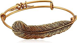 product image for Alex and Ani Spiritual Armor Plume Bangle Bracelet