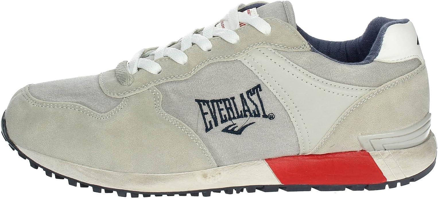 Everlast MX-301 Zapatillas De Deporte Bajas Hombre Gris 41: Amazon.es: Zapatos y complementos
