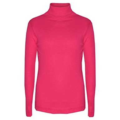 KIDS GIRLS POLO NECK T SHIRT RIBBED COTTON JUMPER LONG SLEEVE TOP AGE 2-13