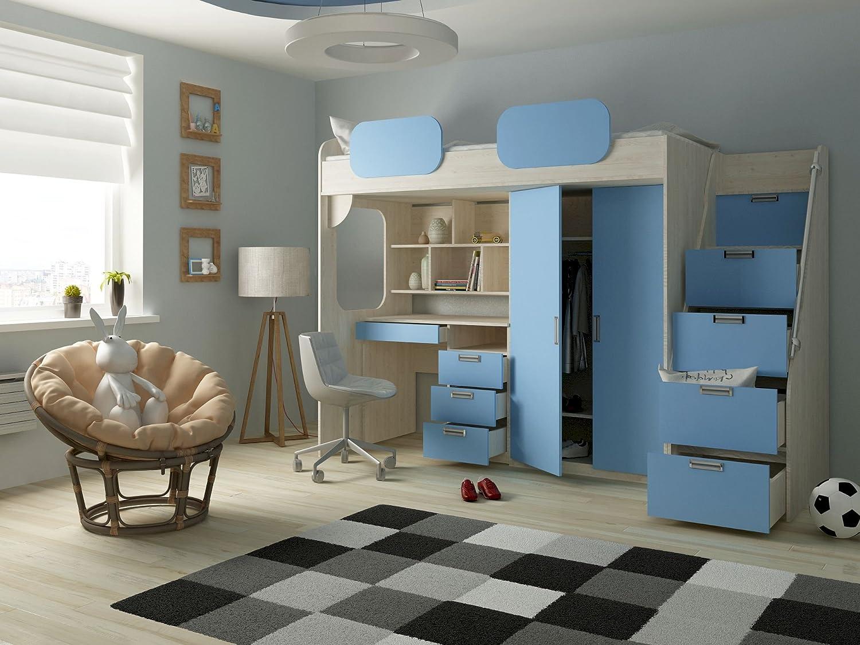 Hochbett Geko Farbe Blau: Amazon.de: Küche & Haushalt