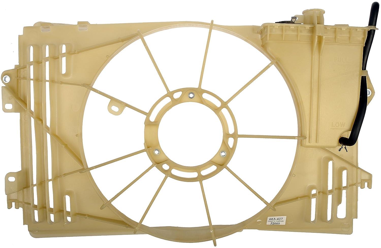Dorman 603-437 Pontiac Vibe Coolant Fluid Reservoir with Shroud Assembly Dorman - OE Solutions