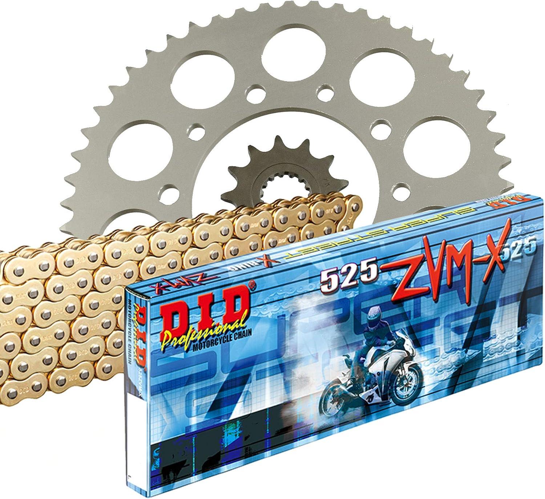 Ritzel Kettenschloss Kette Motorrad Kettenkit Kettensatz 3D 525Z f/ür XSR 700 ABS RM11 2016-2018 inlusive Kettenrad