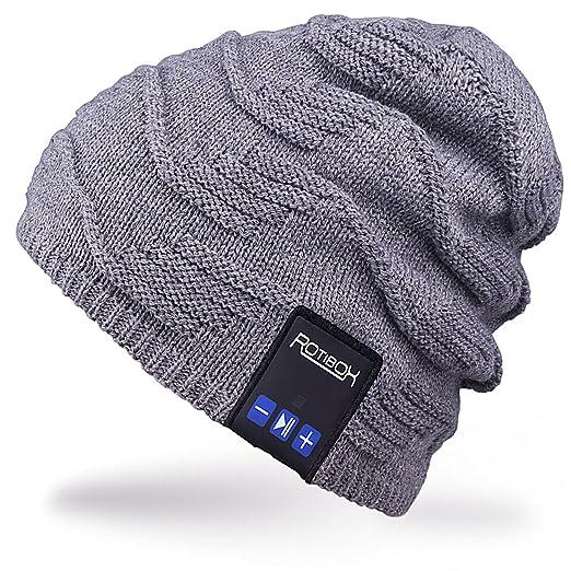108 opinioni per Rotibox Cappello Beanie Bluetooth, cappello elegante invernale con cuffia