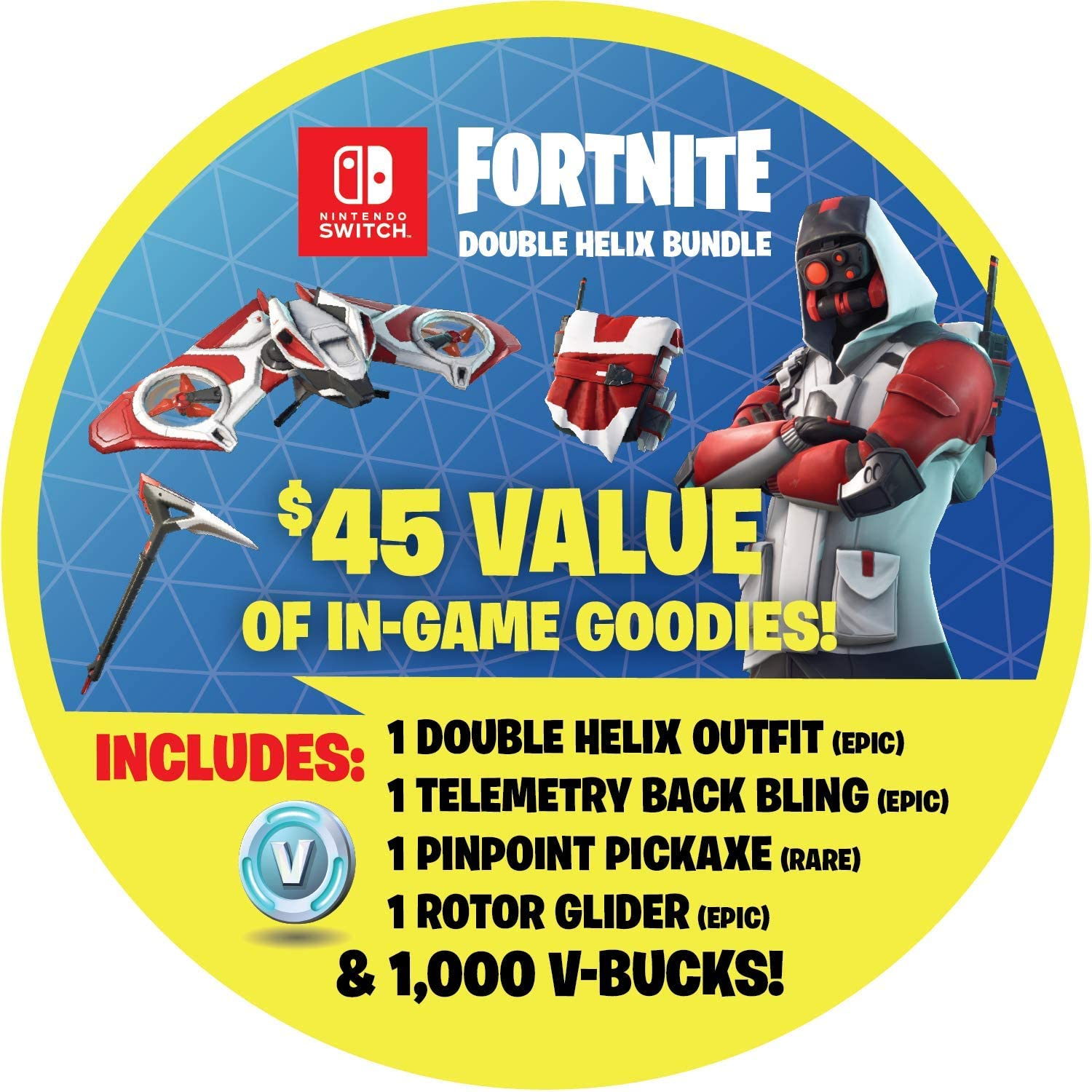 Amazon.com: Nintendo Switch: Fortnite - Double Helix Console ...