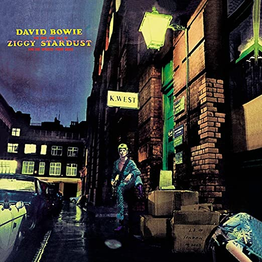 Image result for ziggy stardust album cover