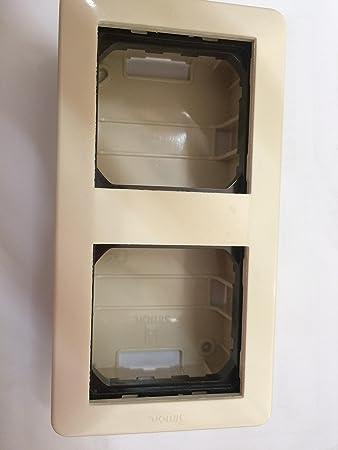 Simon - 27821-32 caja superficie modulos 2a/4e s-27 marfil Ref. 6552731152: Amazon.es: Bricolaje y herramientas