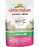 Almo Nature HFC Natural Cat  - Chicken and Salmon  (Pack of 24 x55g)