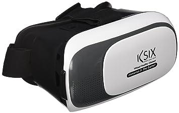 Ksix BXGRVPACK - Gafas de Realidad Virtual + Mando, Color Blanco: Amazon.es: Electrónica
