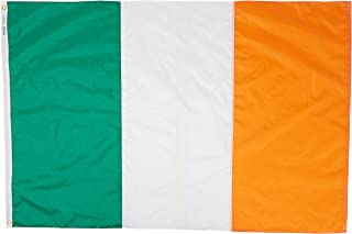 product image for Annin Flagmakers Model 193929 Ireland Flag Nylon SolarGuard NYL-Glo, 4x6 ft, 100% Made in USA to Official United Nations Design Specifications
