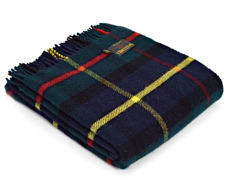 22225e512a97c Tweedmill Tartan Throw Blanket - Pure New Wool (Hunting McLeod)