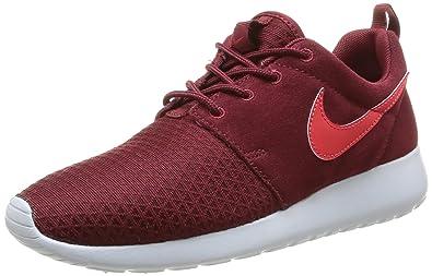 quality design db872 4d1ad Nike Roshe Run Winter, Baskets mode femme, Rouge (Team RedAction Red