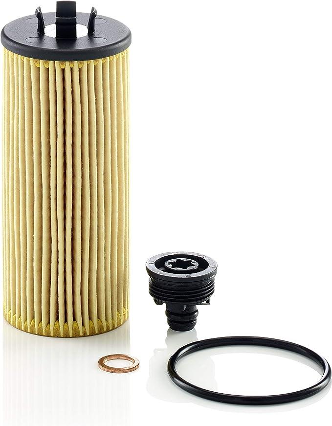Original Mann Filter Ölfilter Hu 6015 Z Kit Ölfilter Satz Mit Dichtung Dichtungssatz Für Pkw Auto