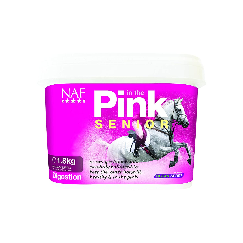 Clear 1.8kg Clear 1.8kg NAF In The Pink Senior Digestion Supplement 1.8kg Clear