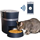 PetSafe Smart Feed Automatic Dog and Cat Feeder, Smartphone, 24-Cups (5 678 ml) Wi-Fi Enabled App for iPhone and Android