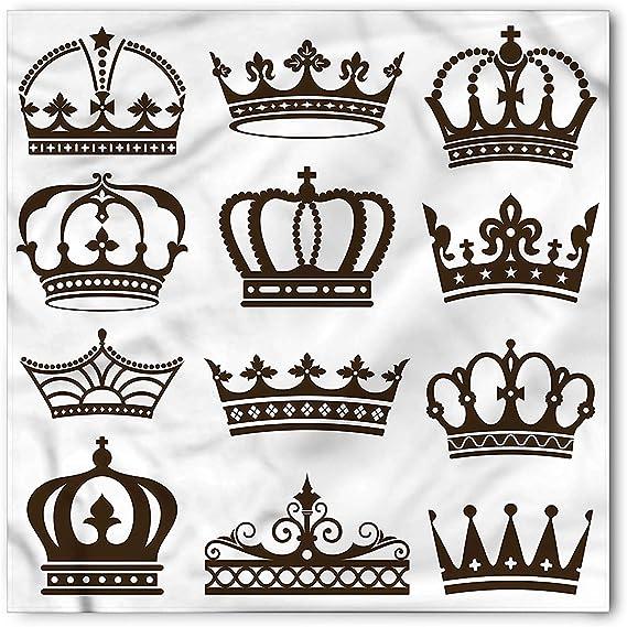 Rey Bandana, símbolo de coronas de realeza Tiaras para reina reina ...