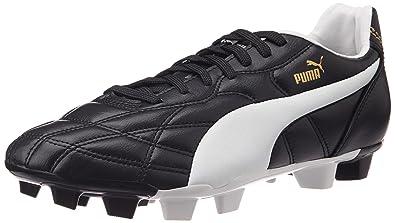 Puma Classico Fg, Chaussures de Football Entrainement homme, Noir (Black/ White/