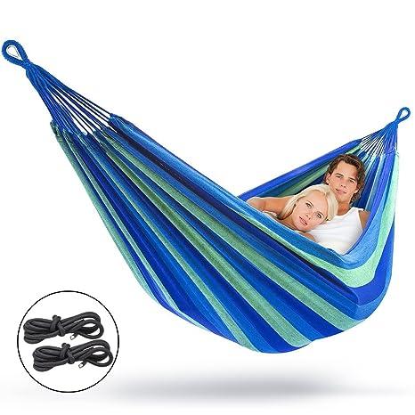 sorbus brazilian double hammock blue amazon     sorbus brazilian double hammock blue   garden  u0026 outdoor  rh   amazon
