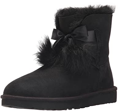 UGG Women's Gita Combat Boot, Black, ...