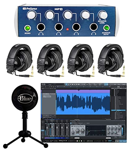 b89a75571e9 Image Unavailable. Image not available for. Color: PRESONUS HP4 Headphone  ...