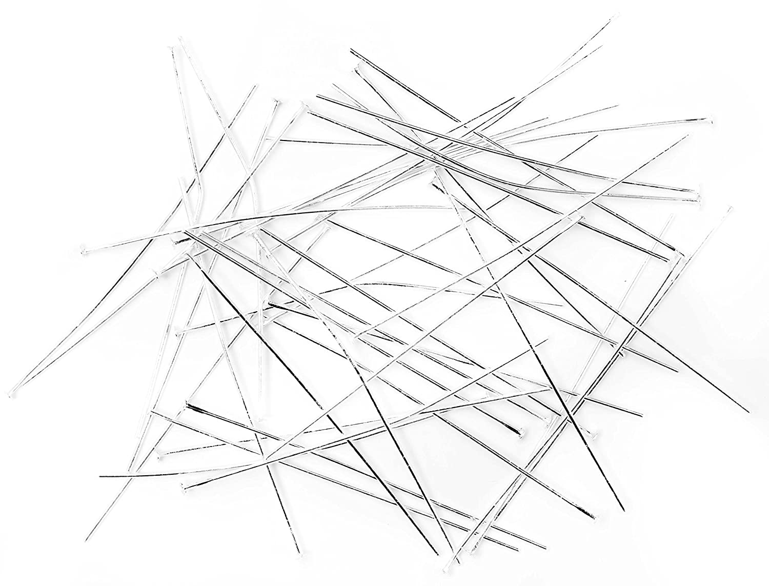 Cousin 40pc 2in Head Pins - Bright Silver Notions - In Network 34712184