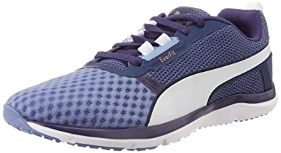 6fde00057dee Puma Women s Pulse Flex XT Wn s Bleached Denim and Astral Aura Mesh Running  Shoes -