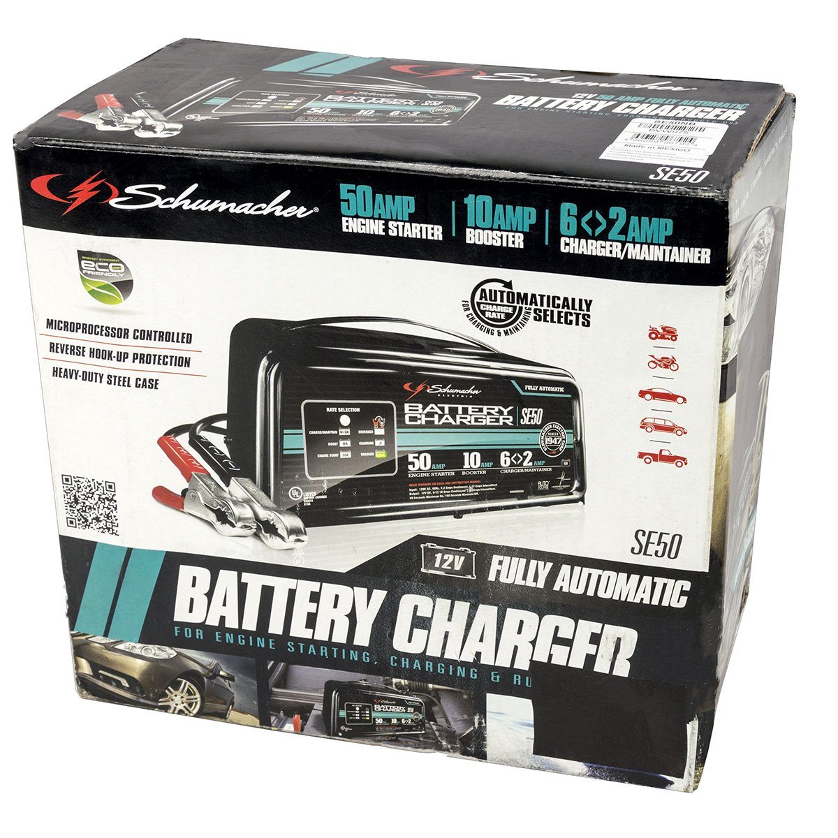 Schumacher Electric Battery Charger Se50 Wiring Diagram Amazoncom 2 10 50 Amp