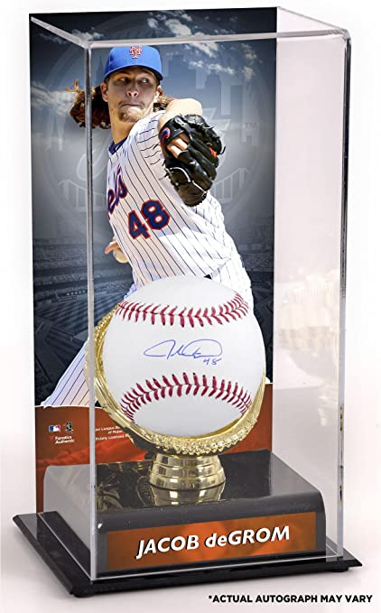Autographed Baseballs Noah Syndergaard and Jacob deGrom New York Mets Autographed Baseball Fanatics Authentic Certified