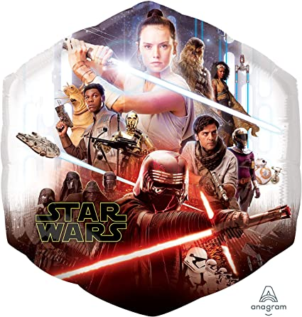 Amazon Com Anagram Star Wars Episode Rise Of Skywalker Foil Balloon Toys Games