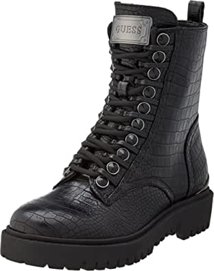 Guess Oxana/Stivaletto (Bootie)/Leat, Botas de Combate Mujer
