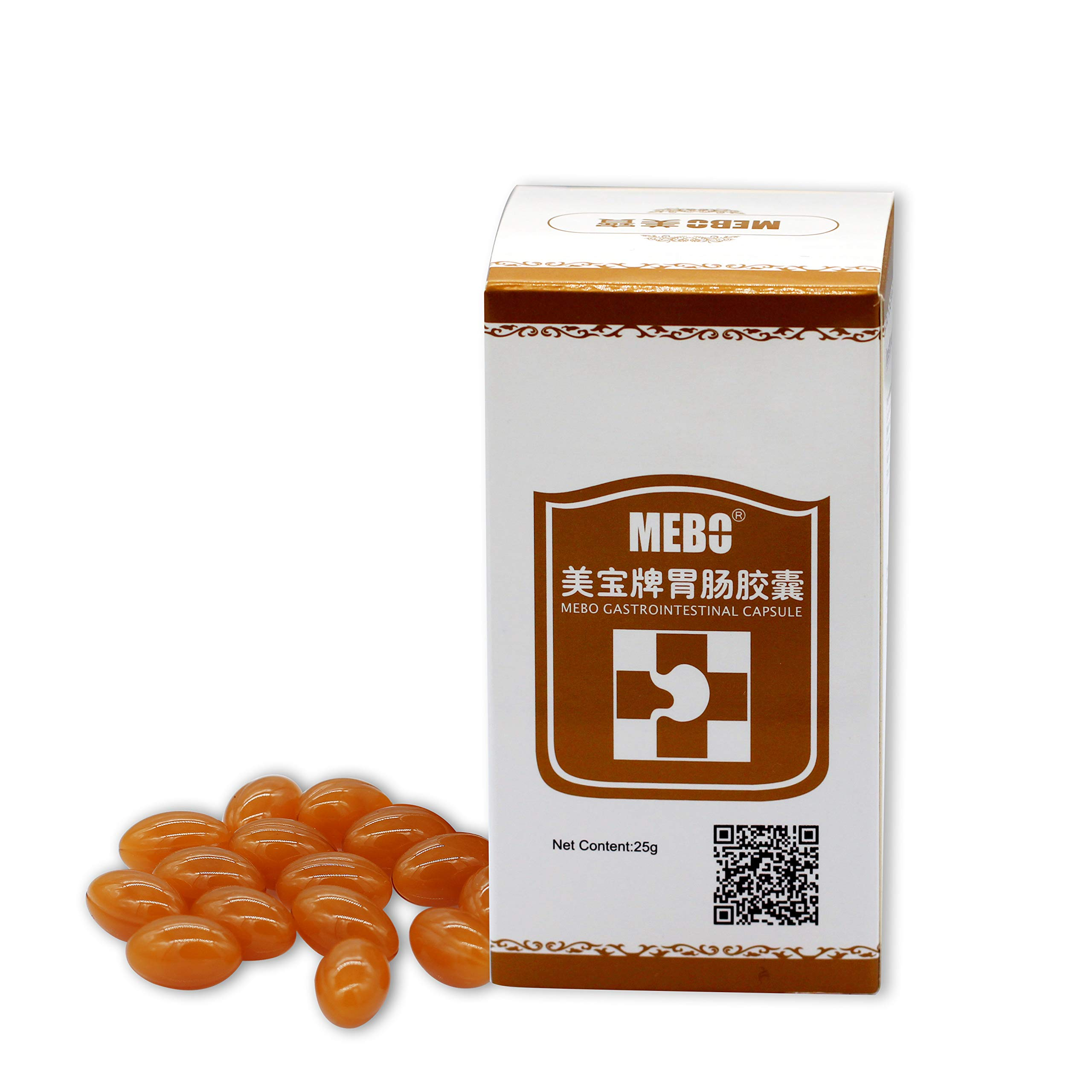 MEBO Stomach Capsule, Overnight Constipation Relief, Intestinal Cleaner, Stomach Comfort, Pure Natural Ingredients, Anti-Aging, Health, Daily Support, Balance, Supplement 0.5g 50 Capsules (1 Bottle)