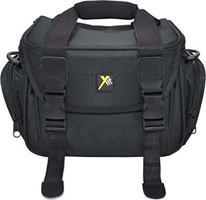 795574599 Amazon.com : Xit XTCC4 Deluxe Digital Camera/Video Padded Carrying Case,  Medium (Black) : Camera & Photo