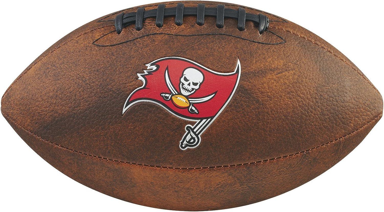 Wilson Sporting Goods NFL Unisex NFL Junior Throwback Team Logo Football