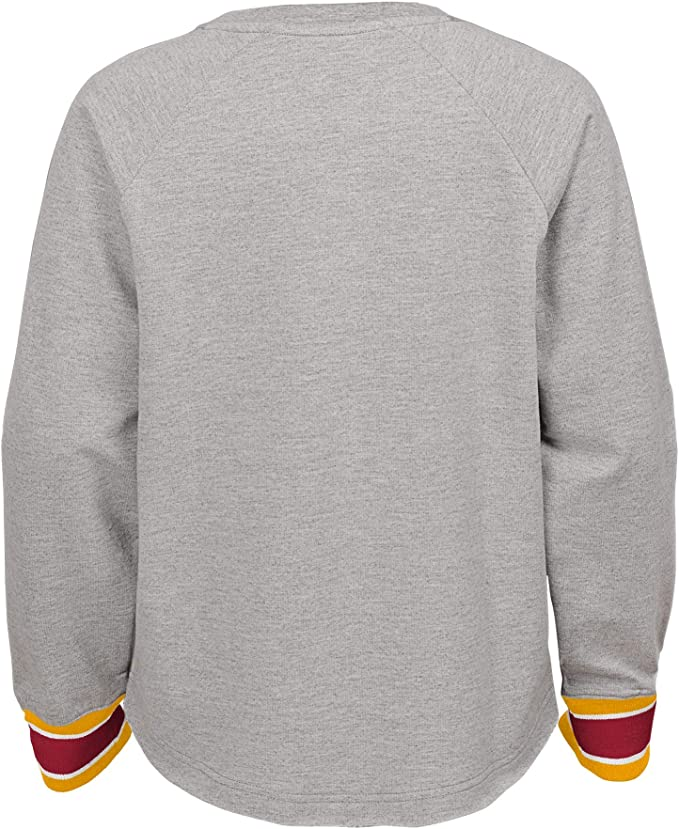 Small University of Southern California Authentic Apparel NCAA USC Trojans University of Southern California Youth Field Quarter Zip Pullover Cardinal//Gold SC200530003