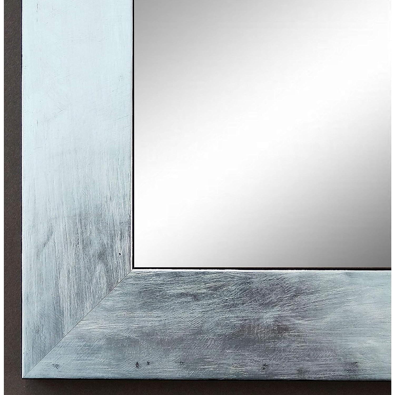 Online Galerie Bingold Spiegel Spiegel Spiegel Wandspiegel Badspiegel Flurspiegel Garderobenspiegel - Über 200 Größen - Lecce Silber 3,9 - Außenmaß des Spiegels 60 x 100 - Wunschmaße auf Anfrage - Antik, Barock c9c6e0