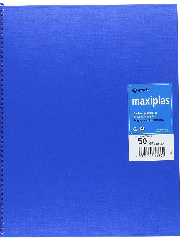 Amazon.com : grafoplas Folder with 50 Sleeves, A4, Tapas ...