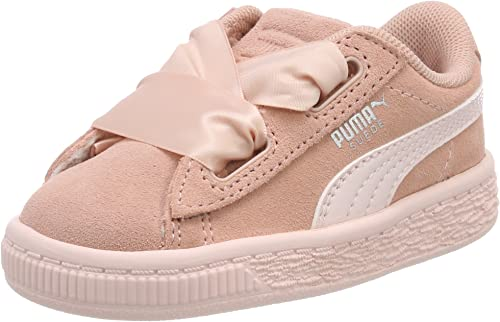 PUMA Mädchen Suede Heart Jewel Inf Sneaker: