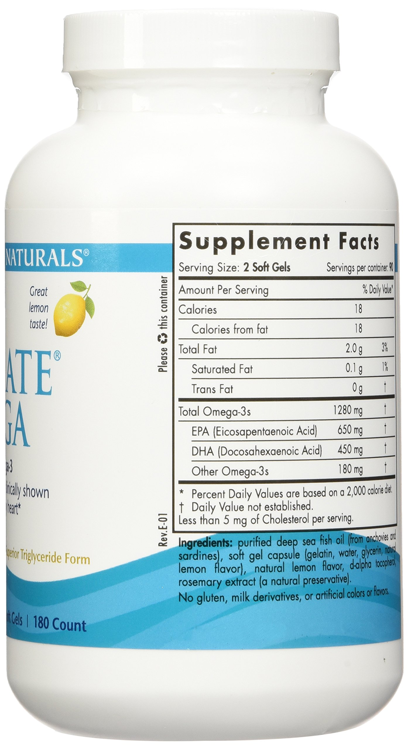 Nordic Natural Ultimate Omega 360 count - (2 pack of 180 per bottle) by Nordic Naturals (Image #4)
