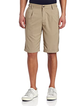 Amazon.com : adidas Golf Men's Climalite Pleated Tech Shorts ...