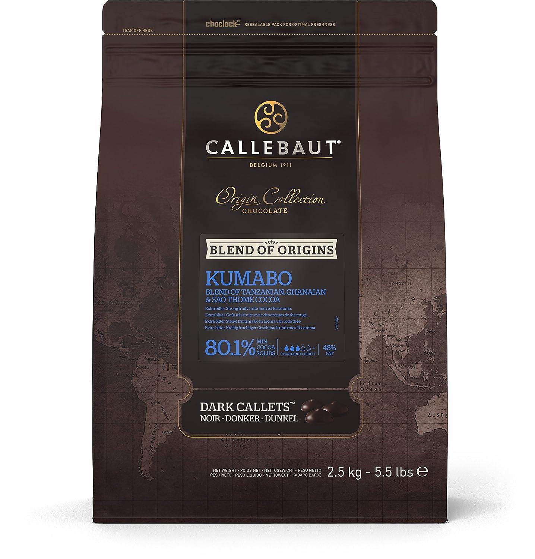 Callebaut Origin, Sao Tome 70% dark chocolate chips 2.5kg: Amazon ...