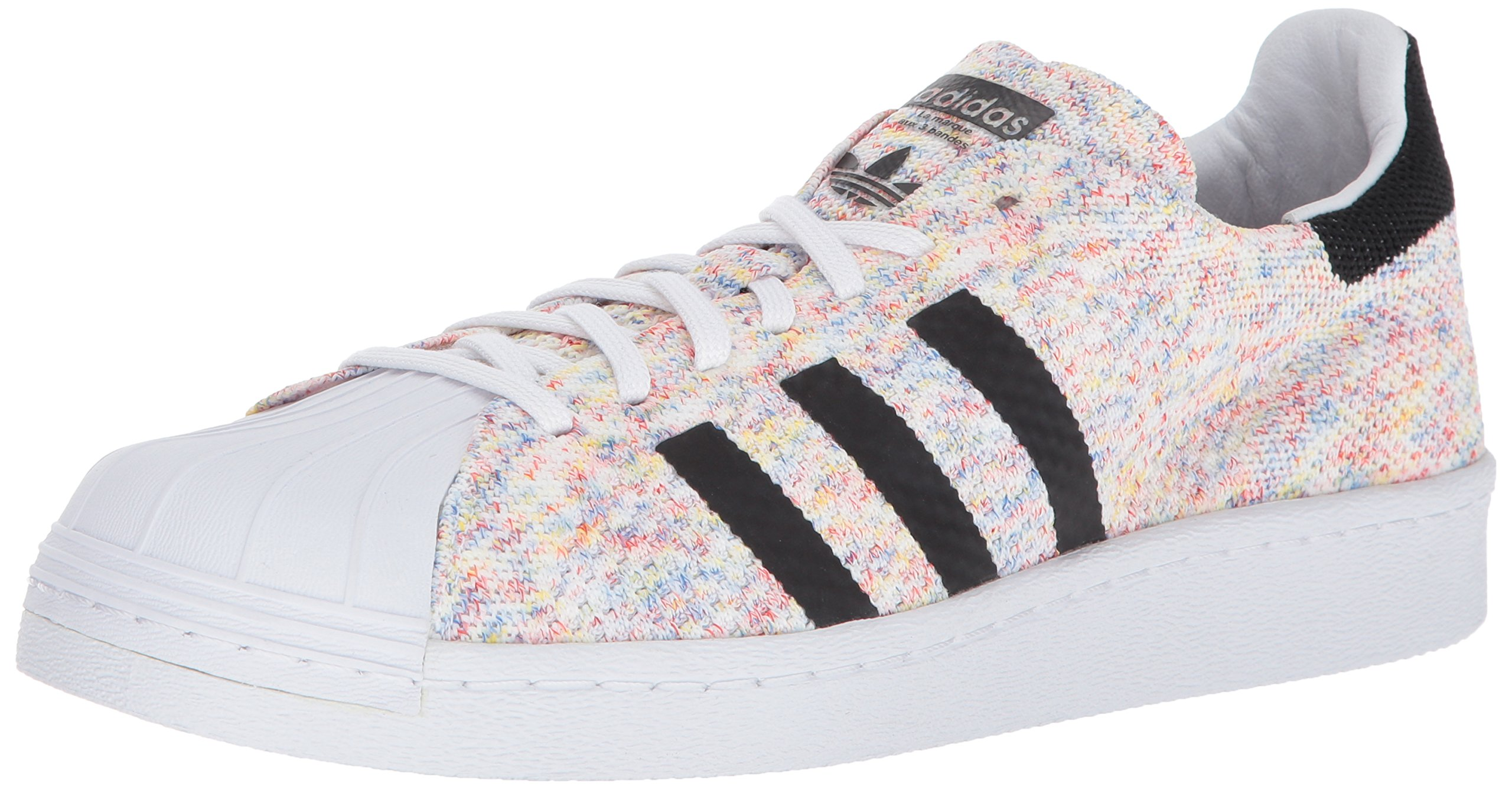 adidas Originals Men's Shoes | Superstar 80s PK, Ftwwht/Ftwwht/Cblack, (10.5 M US)