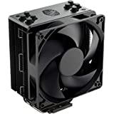 Cooler Master Hyper 212 Black Edition CPU Air Coolor, Silencio FP120 Fan, 4 CDC 2.0 Heatpipes, Anodized Gun-Metal Black…