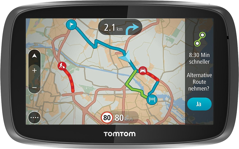 Tomtom Go 6000 Europe Navigationssystem 6 Zoll Schwarz Elektronik
