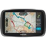 TomTom GO 6000 Europe Navigationssystem (15 cm (6 Zoll) Touchscreen, 8GB interner Speicher, QuickGPSfix, Lifetime TomTom Traffic & Maps) schwarz